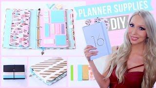 getlinkyoutube.com-DIY Planner Supplies!