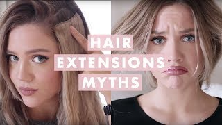 getlinkyoutube.com-Hair Extensions Myths: Everything You Need To Know!