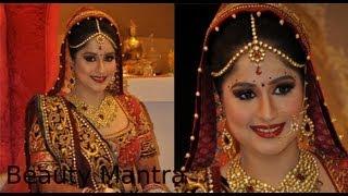 getlinkyoutube.com-Bridal Makeup - Royal Look