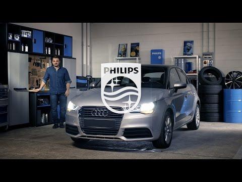 PHILIPS УЧЕБНИК - Как заменить головное освещение на вашем Audi A1 на светодиодные лампы