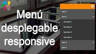 getlinkyoutube.com-Menú desplegable responsive (HTML, CSS y Jquery)