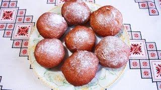 getlinkyoutube.com-Пончики рецепт простой Пампушки рецепт Донат выпечка пончиков  пончик донаты Как приготовить пончики