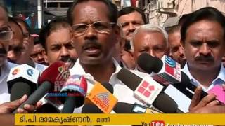 getlinkyoutube.com-Fire accident in Mittai Theruvu; TP Ramakrishnan and AK Saseendran visits teh place