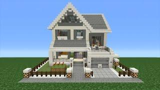 getlinkyoutube.com-Minecraft Tutorial: How To Make A Suburban House - 11