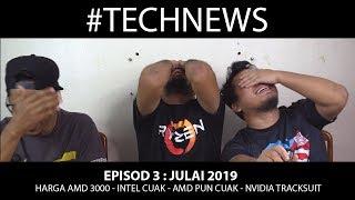 Intel Kecut,AMD Cuak,Nvidia Menang,Sewa Kereta XXX   TechNews Episod 3