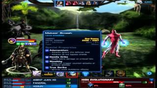 getlinkyoutube.com-Jefe Grupal HIGH EVOLUTIONARY Operacion Especial 21 en Marvel Avengers Alliance