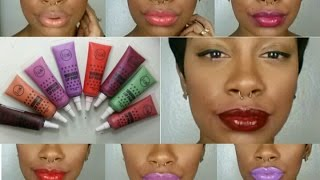 getlinkyoutube.com-Jcat Wonder Lip Paint...Similar to OCC Lip Tars???