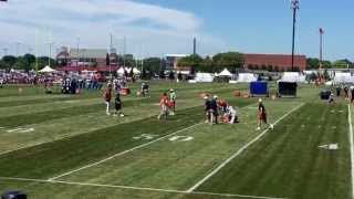 getlinkyoutube.com-2015 Chicago Bears Training Camp - QB, WR, TE