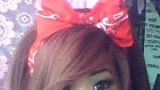 getlinkyoutube.com-How to: Bow headband using a bandanna