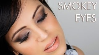 getlinkyoutube.com-Smokey Eyes Marrone