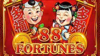 getlinkyoutube.com-**JACKPOT HANDPAY** 88 Fortunes - AMAZING WIN