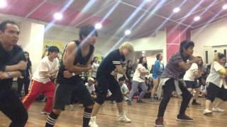 getlinkyoutube.com-141206 BTS DANGER choreography by Mr. Son @ KCC - Jamboi Ikuta