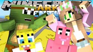getlinkyoutube.com-Minecraft Adventures - Sharky & Scuba Steve LITTLE KELLY & TINY TURTLE VISIT BIKINI BOTTOM!!