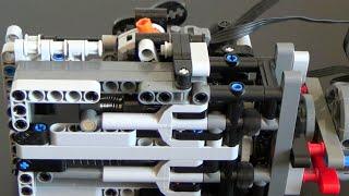 getlinkyoutube.com-LEGO Technic gear unit - alternative pneumatic compressor