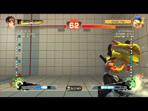 SSF4 AE 2012: TENGA2dEGG (Fei Long) vs Poongko (Yun) - Xbox Live Ranked Match