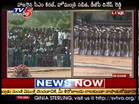 Sub-inspector Passing out parade in Appa Live - TV5