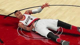 getlinkyoutube.com-NBA 2K16 My Career Ep 19 - DAMIAN LILLARD GETS DROPPED!