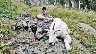 getlinkyoutube.com-THUNDERHORN - Long Bow DIY Mountain Goat Hunt (web exclusive)