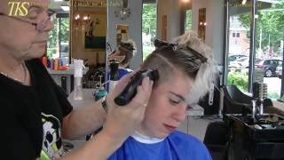 getlinkyoutube.com-Make me a ultra-short summer jumpy bowl cut! Chantal by T.K.S.
