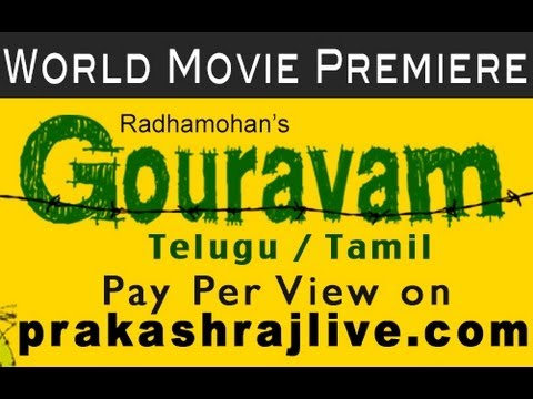 Gouravam Official Telugu theatrical trailer HD - Sirish, Yaami Gautham, Prakash Raj