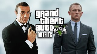 getlinkyoutube.com-GTA 5 Online - Outfits (James Bond SPECIAL)