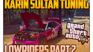 getlinkyoutube.com-GTA 5 Lowriders Part 2 - Karin Sultan Tuning! Alle Neuheiten! GTA Online DLC UPDATE GAMEPLAY