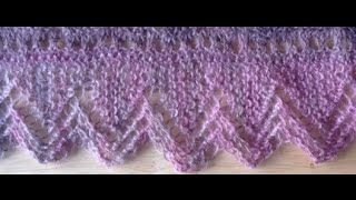 getlinkyoutube.com-Knit Lace Edging Tutorial Video (part 1 and 2) - Lace Knitting Instruction