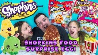 getlinkyoutube.com-Shopkins Food Surprise Egg - Shopkins Season 3, Micro-Lites, Shopkins Hangers