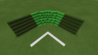 getlinkyoutube.com-[AZD]สอนทำสนามบอลให้โค้งหรือบล้อกให้โค้งใน Minecraft PE