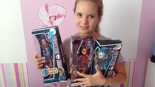 getlinkyoutube.com-Конкурс на 3 куклы Монстр Хай | Yasmin Donut