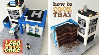 LEGO CITY POLICE CAKE How To Cook That Ann Reardon