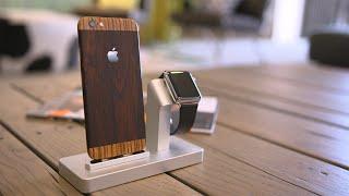 getlinkyoutube.com-Best Apple Watch dock ever?!