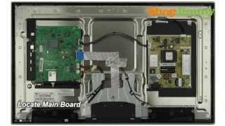 getlinkyoutube.com-Samsung TV Repair Tutorial - Replacing Main Board in Samsung UN32D4000NDXZA TV - How to Fix LED TVs