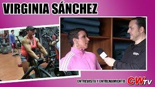 getlinkyoutube.com-Culturismo: Virginia Sánchez (entrevista y entrenamiento) Culturismoweb TV