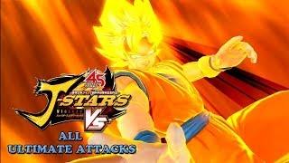 getlinkyoutube.com-J-Stars Victory VS All Ultimate Attacks (HD) | Jスターズ ビクトリーバーサス