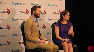 getlinkyoutube.com-Ryan Eggold & Megan Boone talk 'The Blacklist'
