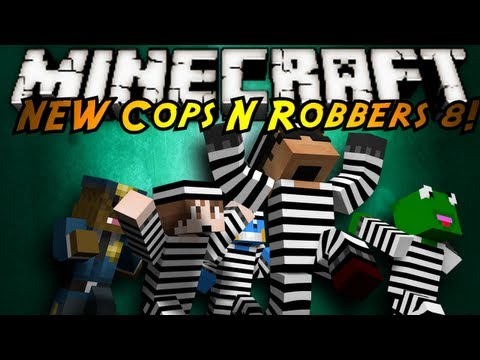 Minecraft Mini-Game : THE NEW COPS N ROBBERS ROUND 8!