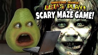getlinkyoutube.com-Annoying Orange - Scary Maze Game FREAKOUT!