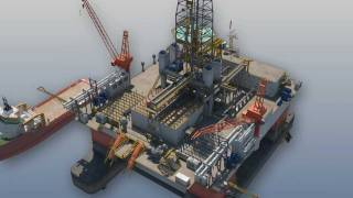 getlinkyoutube.com-Oil and Gas - 3D Animation - Drilling Rig