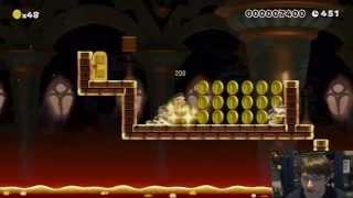 getlinkyoutube.com-Mario Maker Challenge - Winners Run #1