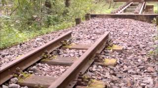 getlinkyoutube.com-Vergessene Gleise der Parkeisenbahn Wuhlheide