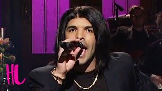 getlinkyoutube.com-Drake Incredible Rihanna 'Work' Impression On SNL - VIDEO
