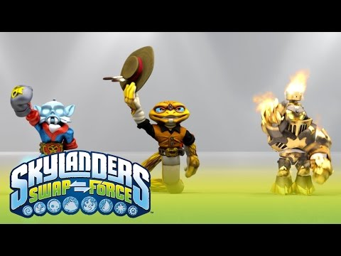 E3 Show: Official Skylanders SWAP Force Trailer