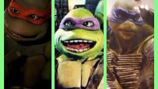 CINEREANDO 3 / caras de las tortugas ninja en las peliculas (1990-2014)- TMNT faces in movies