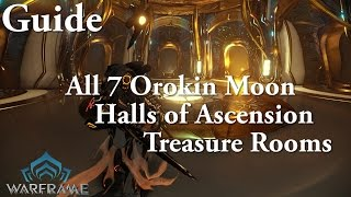getlinkyoutube.com-Warframe | All 7 Orokin Moon Halls of Ascension Treasure Rooms (Drift Mods Guide)