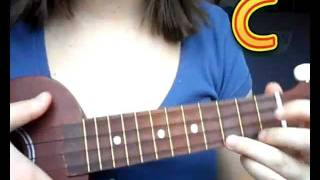 getlinkyoutube.com-Lion Sleeps tonight Ukulele Easy version