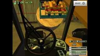 getlinkyoutube.com-Farming simulator 2013 ramassage et rangement de paille