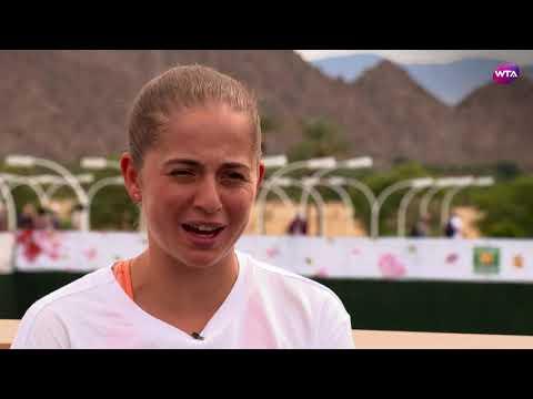 2018 Indian Wells Open Pre-Tournament Interview | Jelena Ostapenko