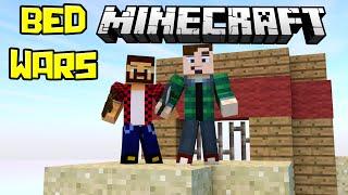 ВСЕ БЕЗ КРОВАТЕЙ - Minecraft Bed Wars (Mini-Game)