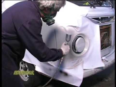 Curso Aerografia Camionete2 -  (Curso Online ou DVD EDUBRAS)